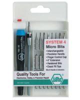 "Wiha Tools 75991 27-Pc. Std. Handle Syatem 4"" Micro Bit S"