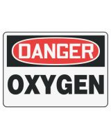 Accuform Signs MCHL168VP Sign Dgr Oxygen  7X10 Pl (1 EA)