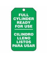 Accuform Signs SBMGT203CTP Tag  Full Cyl Ready Foruse  Sp-Bi  Pf-C  25/Pk (1 PK)
