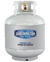 Worthington Cylinders A200145WC1 20-Lb Cylinder W/Opd Overfill Prevention