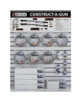 Best Welds CAG-DW3 Construct-A-Gun Wall Display
