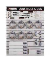 Best Welds 900-Cag-Dw3 Construct-A-Gun Wall Display (Qty: 1)