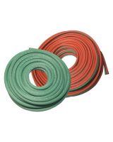 Best Welds 1/4X1-RED-CUT Bw 1/4 X 1 Custom Sgl Grr Red Hose Cut Only