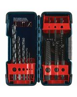 BOSCH B46215 12pc Scr. Ex/Drill Set Black Ox