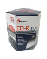 AbilityOne 7045016582773 SKILCRAFT CD Recordable Media - CD-R - 700 MB - 100 Pack Box - 120mm - Printable - Thermal Printable - 1.33 Hour Maximum Recording Time