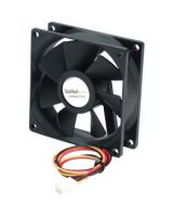 StarTech.com 80x25mm Ball Bearing Quiet Computer Case Fan w/ TX3 Connector - Fan Kit - 80mm - 2000rpm