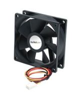 StarTech.com 92x25mm Ball Bearing Quiet Computer Case Fan w/ TX3 Connector - 92.5mm - 1600rpm Ball Bearing