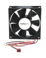 StarTech.com 80x25mm Dual Ball Bearing Computer Case Fan w/ TX3 Connector - 80mm - 2500rpm