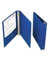 "AbilityOne 7510004098646 SKILCRAFT Loose-leaf 3-Ring Binder - Letter - 8.5"" x 11"" - 1"" Capacity - 1 Each - Blue"
