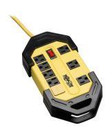 Tripp Lite Safety Power Strip 120V 5-15R 8 Outlet Metal 15' Cord OSHA - NEMA 5-15P - 8 x NEMA 5-15R - 15 ft Cord - 15 A Current - 110 V AC Voltage