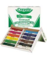 Crayola Classpack Watercolor Pencil Set - Assorted Lead - Wood Barrel - 240 / Box