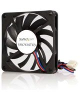 StarTech.com Replacement 70mm TX3 Dual Ball Bearing CPU Cooler Fan - 70mm - 3500rpm 1 x Dual Ball Bearing