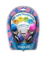 Maxell Kids Safe KHP-2 Headphone - Stereo - Mini-phone - Wired - 32 Ohm - 14 Hz 20 kHz - Over-the-head - Binaural - Semi-open - 4 ft Cable