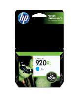 HP 920XL High Yield Cyan Original Ink Cartridge - Inkjet - 700 Page - 1 Each