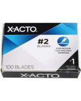 Elmer's Precision Knife Blade - #2 - 100 / Pack - Silver