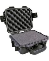 """Hardigg Storm Case iM2050 Shipping Case with Cubed Foam - Internal Dimensions: 9.50"""" Width x 7.50"""" Depth x 4.25"""" Height - External Dimensions: 11.8"""" Width x 9.8"""" Depth x 4.7"""" Height - Press & Pull Latch Closure - Resin - Black"""
