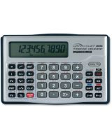 "Compucessory Financial Calculator - Auto Power Off - 10 Digits - LCD - Battery Powered - 1 - CR2032 - 0.6"" x 5"" x 3.1"" - Silver"