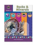 Teacher Created Resources Rocks & Minerals Education Printed Book for Science - English - Book - 48 Pages