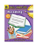 Teacher Created Resources Warm-up Grade 6 Reading Rook Education Printed Book - English - Softcover - 176 Pages
