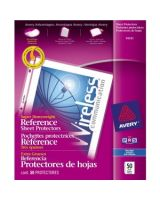 """Avery Super Heavyweight Reference Sheet Protectors - 10 x Sheet Capacity - For Letter 8.50"""" x 11"""" Sheet - Clear - Polypropylene - 50 / Box"""