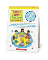 Scholastic Circle Time Sing-Along Flip Chart & CD Education Printed/Electronic Book by Paul Strausman - CD-ROM, Book - 26 Pages