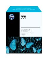 HP No. 771 Maintenance Cartridge - Inkjet - Black
