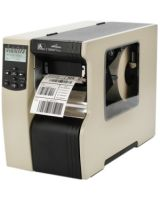 "Zebra 110Xi4 Direct Thermal/Thermal Transfer Printer - Monochrome - Desktop - Label Print - 4"" Print Width - 14 in/s Mono - 300 dpi - 16 MB - Wireless LAN - USB - Serial - Parallel - Ethernet - LCD - 4.50"" Label Width - 12.50 ft Label Length"