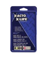 X-Acto No.11 Classic Fine Point X-Life Refill Blade - #11 - StyleDurable, Self-sharpening, Rust Resistant - Carbon Steel - 500 / Box - Silver