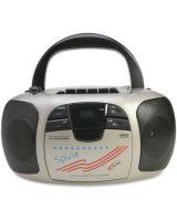 Califone Spirit Multimedia Player/Recorder By Ergoguys - 1 x Disc - 2 W Integrated Stereo Speaker LCD - CD-DA - 108 MHz, 1710 MHz