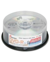 AbilityOne 7045015992658 SKILCRAFT DVD Recordable Media - DVD-R - 8x - 4.70 GB - 25 Pack Spindle - 120mm - 2 Hour Maximum Recording Time