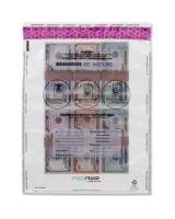 "MMF Tamper-Evident Deposit Bags - 12"" Width x 16"" Length - Clear - Polyethylene - 1/Box - Deposit"