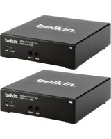 Belkin HDBaseT TX/RX AV Extender Box (Up to 100M) - 328.08 ft Range - 2 x Network (RJ-45) - 1 x HDMI In - 1 x HDMI Out - Category 6