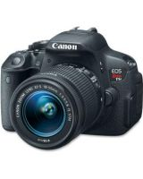 "Canon EOS Rebel T5i 18 Megapixel Digital SLR Camera with Lens - 18 mm - 55 mm - 3"" Touchscreen LCD - 16:9 - 3.1x Optical Zoom - Optical (IS) - 5184 x 3456 Image - 1920 x 1080 Video - HDMI - PictBridge - HD Movie Mode"