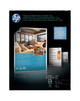 "HP Premium Presentation Paper - Letter - 8.50"" x 11"" - 32 lb Basis Weight - Matte, Smooth - 100 Sheet - Bright White"