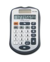 Compucessory Simple Calculator - 8 Digits - Dark Gray - 1 Each