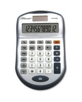 Compucessory Simple Calculator - 12 Digits - Dark Gray - 1 Each