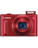 "Canon PowerShot SX610 HS 20.2 Megapixel Compact Camera - Red - 3"" LCD - 16:9 - 18x Optical Zoom - 4x - Optical (IS) - TTL - 5184 x 3888 Image - 1920 x 1080 Video - HDMI - PictBridge - HD Movie Mode - Wireless LAN"