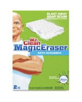 Mr. Clean Magic Eraser Scented Bath Scrubber - 2 / Pack - White