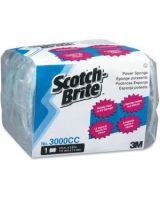 "Scotch-Brite Power Pads - 0.7"" Height x 4.5"" Width x 2.8"" Depth - 60/Carton - Aqua"