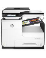 HP PageWide Pro 477dw Page Wide Array Multifunction Printer - Color - Plain Paper Print - Desktop - Copier/Fax/Printer/Scanner - 40 ppm Mono/40 ppm Color Print - 2400 x 1200 dpi Print - 1 x Input Tray 500 Sheet, 1 x Multipurpose Tray 50 Sheet, 1 x Output