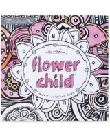 Mead Flower Child Adult Coloring Book Coloring Printed Book - Book - 46 Pages