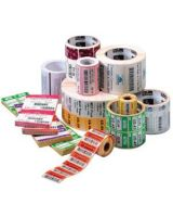 """Zebra Label Paper 4 x 3in Direct Thermal Zebra Z-Perform 1000D 3 in core - Permanent Adhesive - """"4"""" Width x 3"""" Length - 2000 / Roll - 3"""" Core - Direct Thermal - White - Paper, Acrylic - 4 / Roll"""