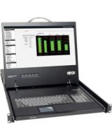 """Tripp Lite Rack Console KVM Cable Kit w/ 19"""" LCD 1U PS/2 TAA GSA - 1 Computer(s) - 19"""" Active Matrix TFT Color LCD - 1 x HD-15 Keyboard/Mouse/Video - 1U Height"""