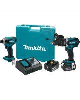 Makita XT218MB 18 Volt LXT Lithium-Ion Cordless 2-Piece Combo Kit
