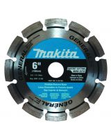 Makita A-94708 6 In., Diamond Blade Segmented General Purpose.