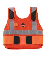 Chill-Its 6215 Phase Change Cooling Vest & Pack L/XL Orange (1 Each)
