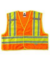 Glowear 8245Psv Type P Class 2 Public Safety Vest L/XL Orange (1 Each)