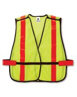 Glowear 8080Bax Non-Certified X-Back Vest Lime (1 Each)
