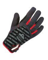 Proflex 812Cr Utility + Cut Resistance Gloves L Black (1 Pair)