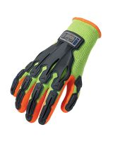 Proflex 921 Thermal Rubber-Dipped Dorsal Impact-Reducing Glove 2XL Lime (1 Pair)